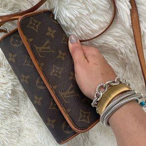 Authentic Louis Vuitton Pochette Twin PM